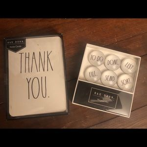 Rae Dunn Thank You Cards & Magnets
